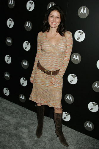 Sasha @ Motorola's Seventh Anniversary Party to Benefit Toys for Tots