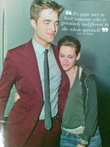 Scans: Rob and Kristen in OK! Magazine (Philippines)