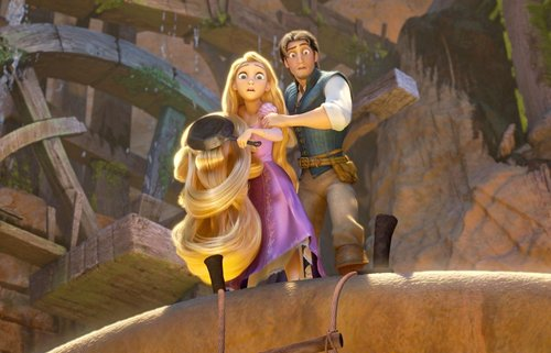 Tangled wallpaper possibly containing an acropolis titled Screencaps