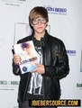 Signing Copies of First Step 2 Forever - justin-bieber photo