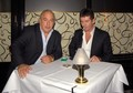 Sir Philip Green And Simon Cowell Having Dinner At Scotts - simon-cowell photo