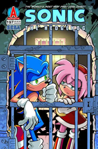 Sonic And Amy Cover