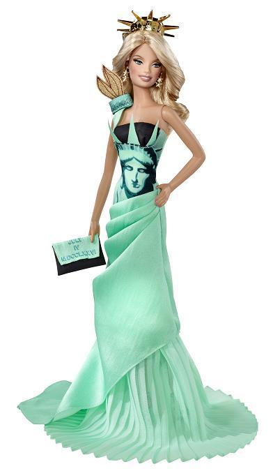 Statue of Liberty Barbie