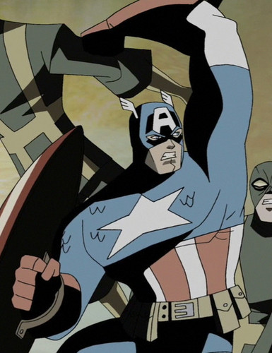 Avengers: Earth's Mightiest heroes fondo de pantalla with anime titled Steve Rogers - Captain America