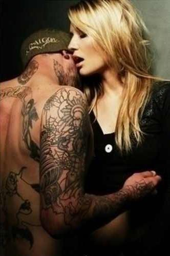 image Hot tattooed couple does a nice 69