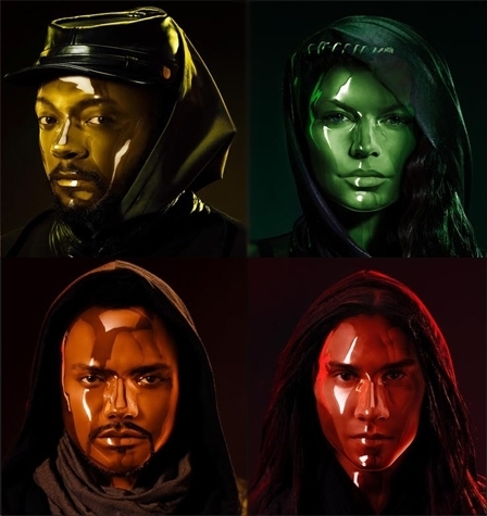 black eyed peas wallpaper titled The ENd