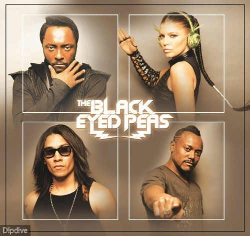 Black Eyed Peas Hintergrund probably containing a portrait titled The End