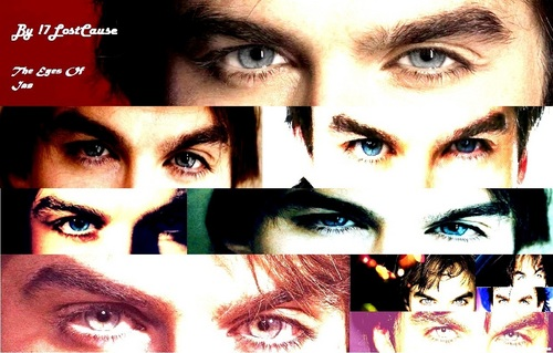 Ian Somerhalder wallpaper probably with a portrait titled The Eyes of ian