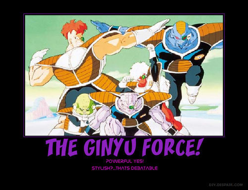 Dragon Ball Z wallpaper with anime entitled The Ginyu Force