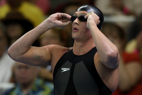 Ryan Lochte वॉलपेपर probably containing a water and a breaststroker, स्तनधारक titled The Lochtenator