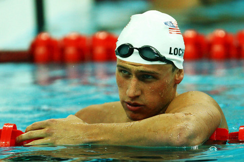 Ryan Lochte wallpaper with a breaststroker titled The Lochtenator