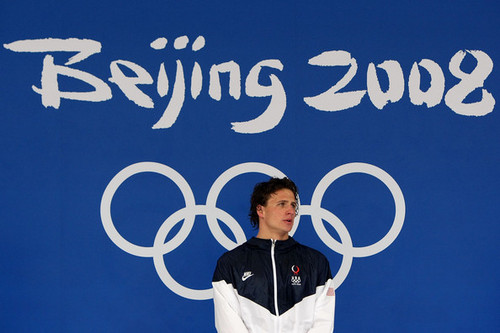 Ryan Lochte wallpaper possibly with a sign entitled The Lochtenator