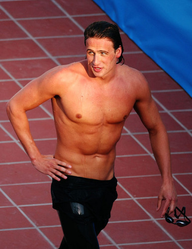 Ryan Lochte wallpaper containing a hunk, swimming trunks, and a six pack titled The Lochtenator