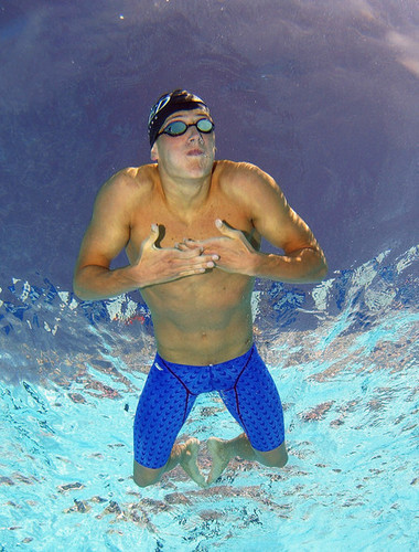 Ryan Lochte wallpaper probably with a breaststroker and a water titled The Lochtenator
