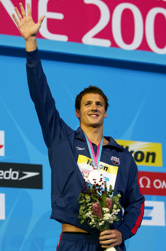 Ryan Lochte wallpaper entitled The Lochtenator