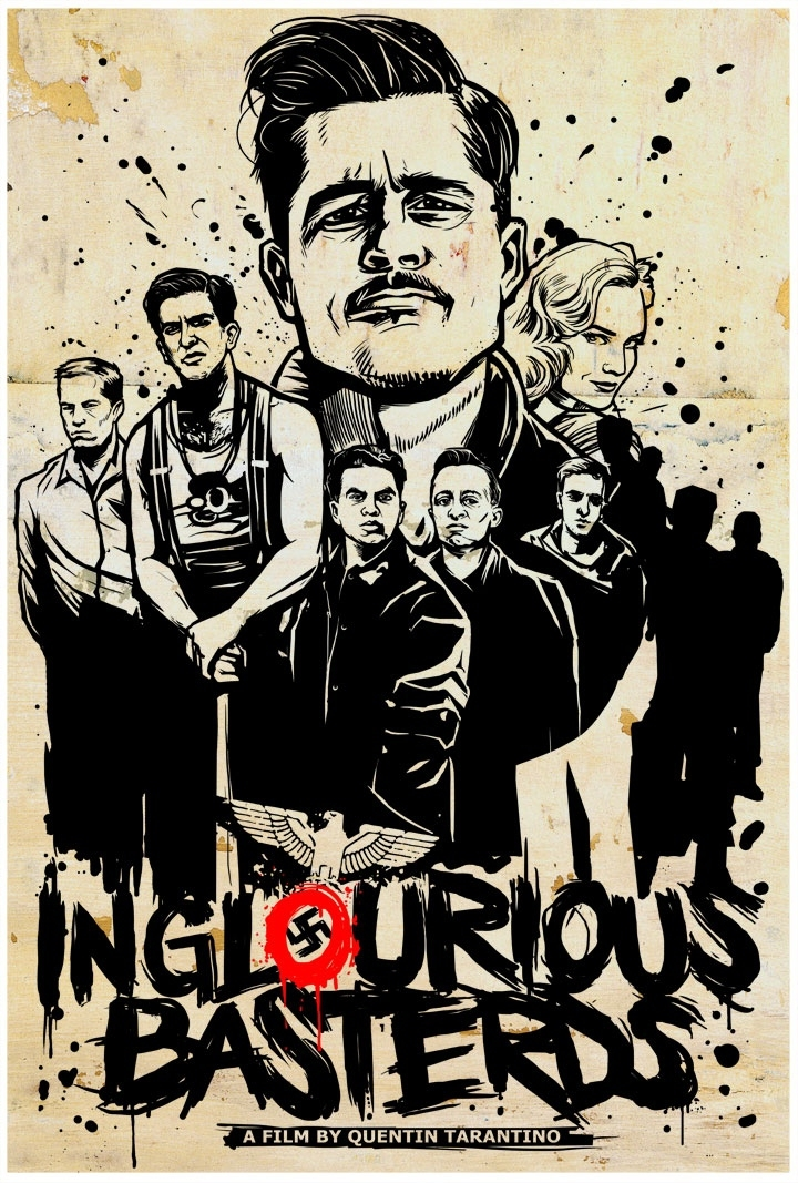 The Lost Art of Inglourious Basterds