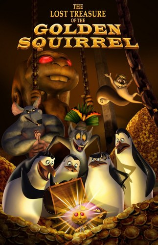 The Lost Treasure of the Golden Squirrel Poster