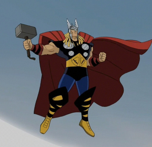 Avengers: Earth's Mightiest 超能英雄 壁纸 called Thor Odinson - Thor