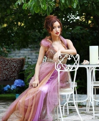 Christian Serratos fondo de pantalla possibly with a cena dress, a bridesmaid, and a vestido entitled Troix Magazine - Christian Serratos