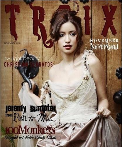 Troix Magazine - Christian Serratos