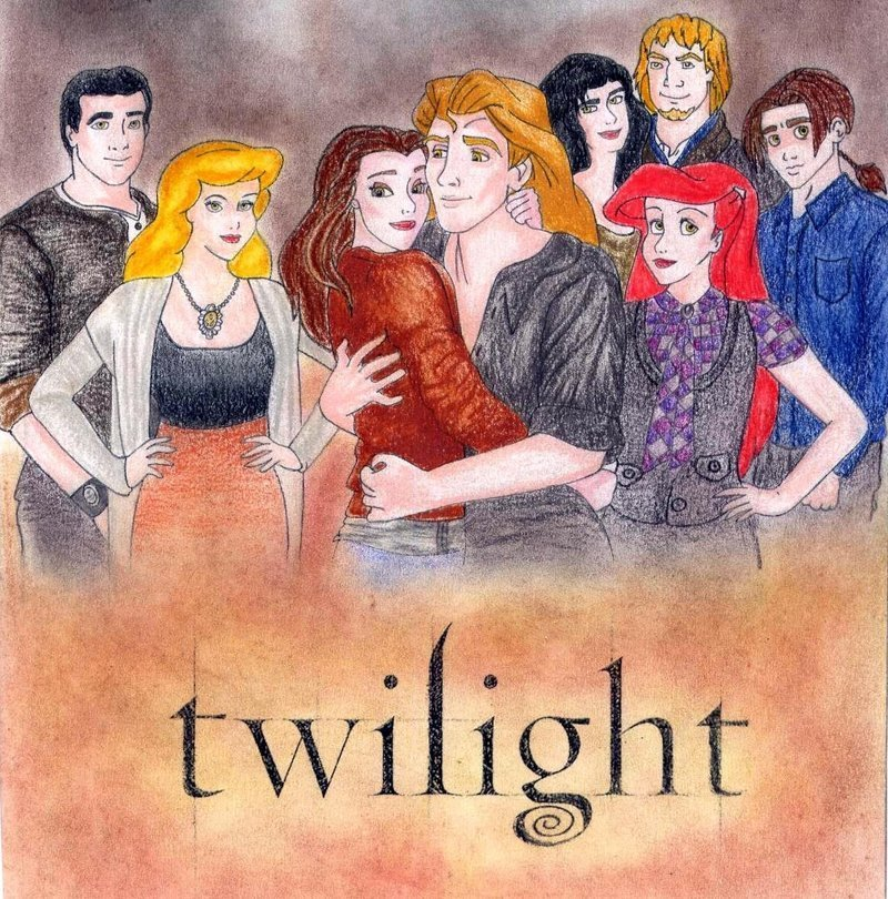 Imagens da Disney - Página 6 Twilight-Crossovers-disney-princess-16750171-800-810