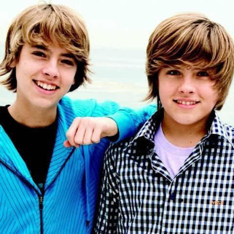 The Sprouse Brothers wallpaper probably containing an outerwear titled Twins