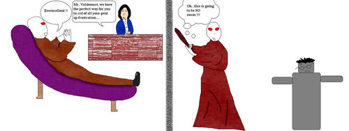 Voldemort goes to Therapy