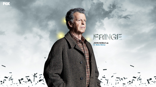 Fringe wallpaper with a cardigan and a pullover entitled Walter Bishop