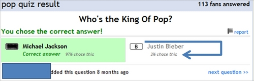 Who is the King of Pop?