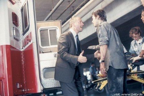 Xander Berkeley & Carlos Bernard as George Mason & Tony Almeida