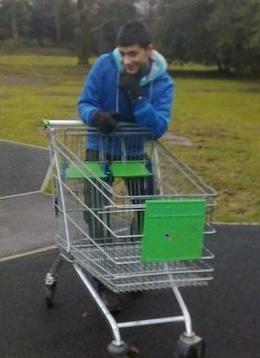 Zayn shopping x