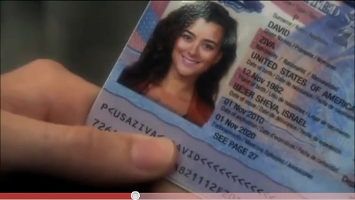 Ziva's passport