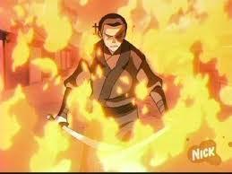 Zuko on 불, 화재