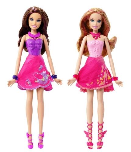 búp bê barbie a fairy secret-teresa and summer