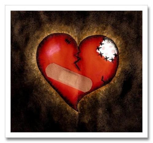 broken corazón