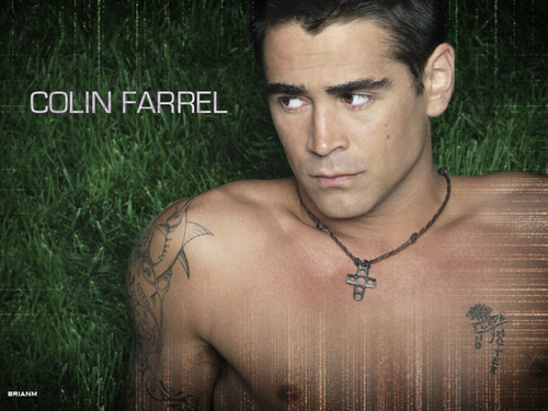 Colin Farrell wallpaper possibly with a hunk called colin ;)