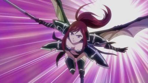 erza in armors