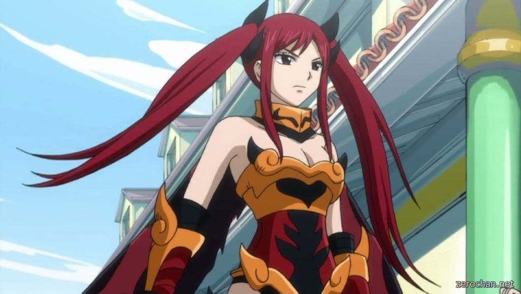 erza in armour