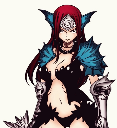 erza in armours