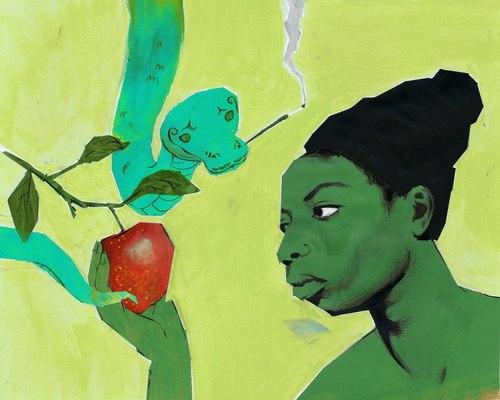 """Illustration Inspired por Song """"Forbidden Fruit"""""""