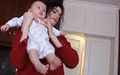 michael & baby prince - the-jackson-children photo