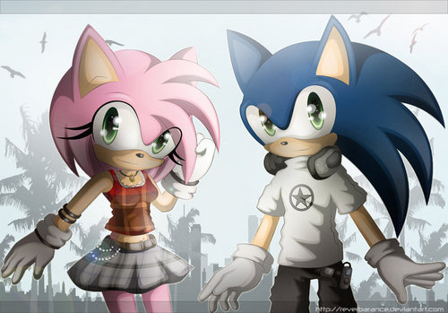 morning light - sonic-couples Fan Art