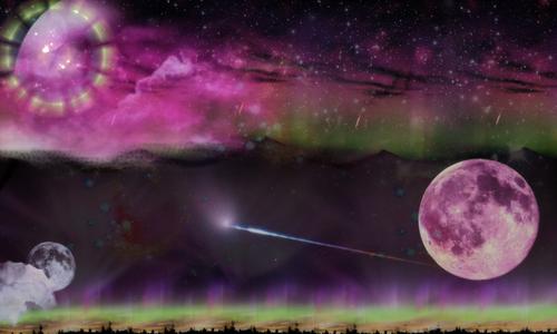 mystical moon