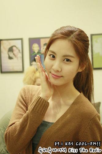 seohyun-kbs kiss the radio