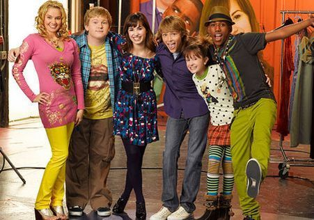 sonny with the cast
