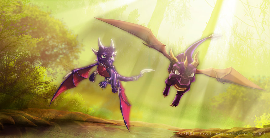 spyro-love-cynder-spyro-the-dragon-16747