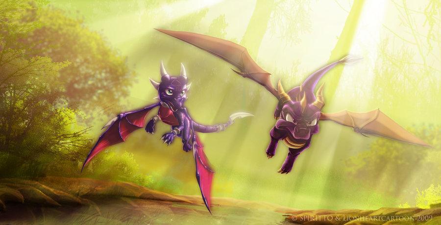 Обновлён 15 ноября 2010.  Наши друзья драконы!