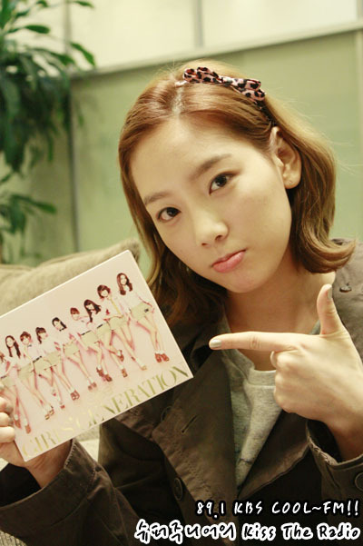 taeyeon-kbs kiss the radio - Girls Generation/SNSD 400x601