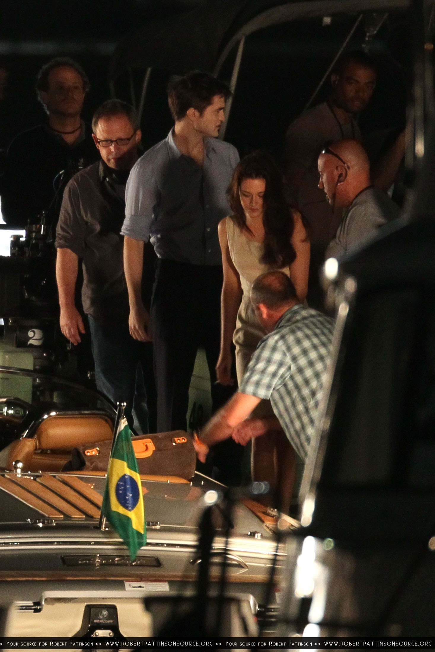 HQ's of the filming at the marina da Gloria and Lapa are After the Cut!