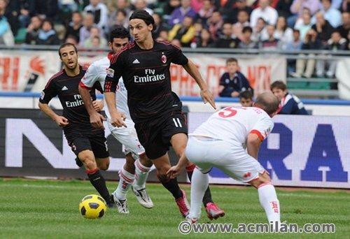 Ibrahimovic....(Bari-Milan 2-3)